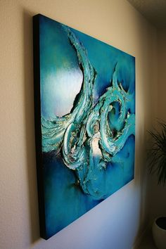 Sculptural Paintings gold leaf silver leaf art large scale classy elegant Texas Santa Fe Dallas Abstract artist contemporary - Cody Hooper Art