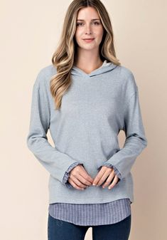 765cbdb8877 French Terry Double Layered Hoodie