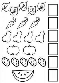 Nursery Worksheets, Printable Preschool Worksheets, Free Kindergarten Worksheets, Preschool Writing, Numbers Preschool, Preschool Learning Activities, Math Numbers, Math For Kids, Free Images