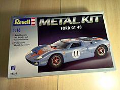 Sammler Rarität - Ford GT40 - 1:18 - Revell Metal Kit - Metallbausatz