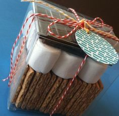 S'mores in a Box - Great Gift Idea