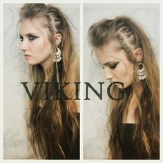 maquillage femme viking