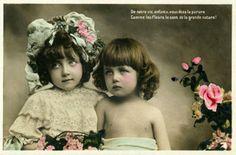 Vintage Images Children for creating art