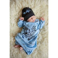 Awesome Blue Baby Boys Coming Home Outfit for Boys on Etsy, $38.00