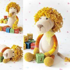 WEBSTA @ fuzzpotlanedesigns - Have a ggrrrrreeeat weekend all #crochet #amigurumilove #cat #lion #cuddly…