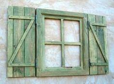 reciclar ventana de madera - Buscar con Google