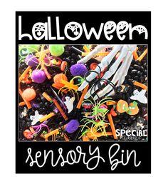 Halloween Sensory Bi