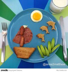 Bir Annenin Çocukları İçin Hazırladığı Birbirinden Eğlenceli Yemek Tabakları
