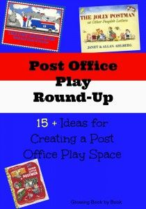 Post Office Round-Up- Collection of over 15 ideas for creating a post office play area to build literacy skills. Including books related to the post office. Dramatic Play Area, Dramatic Play Centers, Literacy Skills, Literacy Activities, Diy Mailbox, Community Helpers Preschool, Writing Station, Letters For Kids, Office Themes