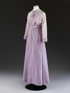 Дневное платье от Mascotte, 1912 год