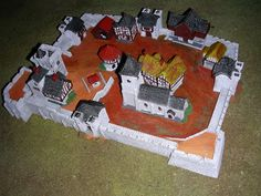 Napoleonic Wargame with 6mm (1/300 or 1/285) miniatures : Città fortificata