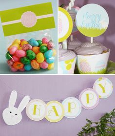 Bright & Colorful Easter Party for Kids