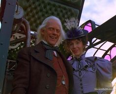 Back to the Future Part III - Mary Steenburgen & Christopher Lloyd