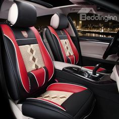 Super High Quality And Real Leather Material Car Seat Cover