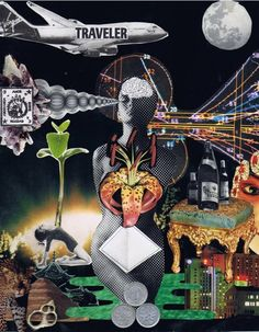 Mix Media Collage, Kristin Goodman
