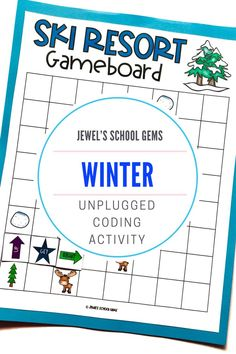 SEASONAL Unplugged Coding Activities (Winter Coding Unplugged Activities) by Jewel's School Gems | Looking for seasonal unplugged coding activities for kids from kindergarten to 2nd grade? This product contains winter-themed unplugged coding printables that will make learning programming fun and develop students' skills in coding, such as problem solving and critical thinking, as well as collaboration and communication skills. Click to see it on TpT.