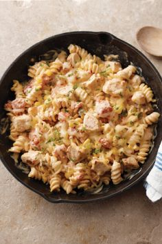 Southwest Pasta Skillet – What happens when you add a creamy sauce ...
