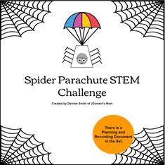 Spider Parachute STEM Challenge - JDaniel4s Mom