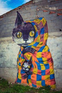 MIAU, Museo Inacabado de Arte Urbano de #Fanzara - Castellón (España)
