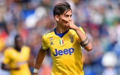 Lataa kuva 4k, Paulo Dybala, tavoite, Juventus, jalkapallo tähteä, jalkapalloilijat, Juve, Italia, Serie