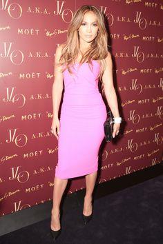 Jennifer Lopez - 'A.K.A.' Album Launch Party - Dress: Roland Mouret