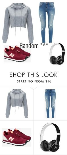 """Random outfit again-"" by futurefoxyt ❤ liked on Polyvore featuring Ted Baker, New Balance and Beats by Dr. Dre"
