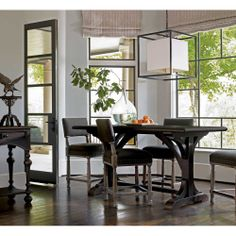 Bernhardt Furniture Belgian Oak Gathering Table BN-337-952