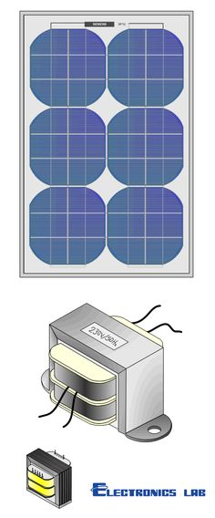 Solar Panel and Transformer vector graphics designed on Visio to use . Vector Graphics, Solar Panels, House, Design, Sun Panels, Solar Power Panels, Home, Homes