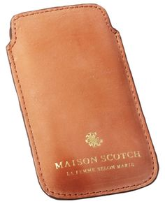 Leather phone cover - Accessories - Scotch & Soda Online Shop