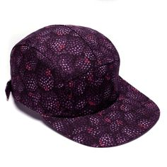 MOUPIA Blackberries 5 Panel Hat