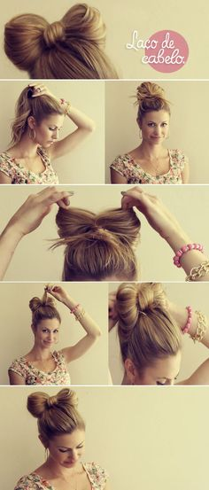 Laço do cabelo