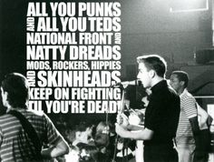 Mods ~ Ska ~ and Rude Boys National Front, Goth Music, Soul Jazz, Rude Boy, My Generation, Progressive Rock, Music Images, Skinhead, A Way Of Life