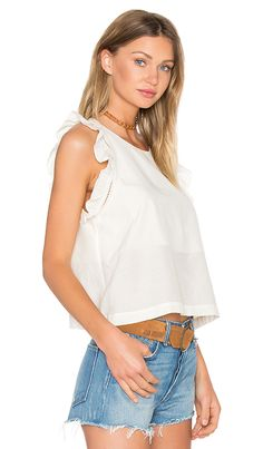 Shop for SAM&LAVI Dacia Top in Butter at REVOLVE. Free 2-3 day shipping and…