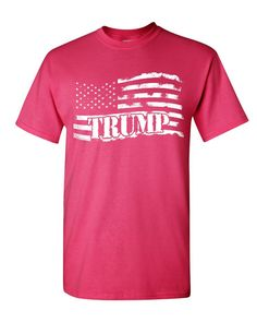 718ab6588 Donald Trump Flag MAGA T-Shirt Make America Great Again Mens Tee Shirt