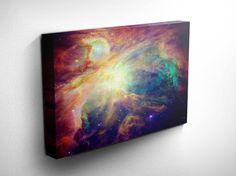 Orion Nebula Art Prints  Space Wall Art Stars by DareToDreamPrints