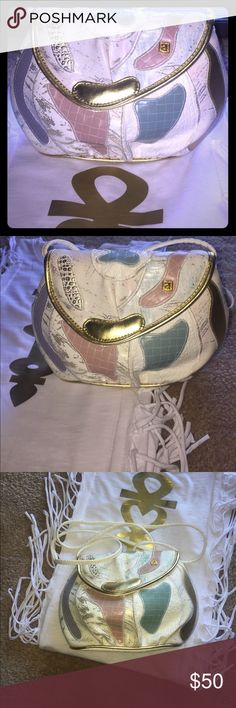 Vintage Beauty Nas Bag Gorgeous cross body purse. Code for authenticity. Great Condition super spotless inside. Bags Crossbody Bags