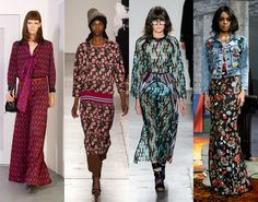 The 12 Best Fall 2016 Trends From New York Fashion Week | StyleCaster | Print Motifs