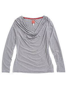 Joules Vicky Long Sleeve Stripe Jersey Top, Creme online at JohnLewis.com - John Lewis