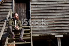 Young man outdoors Royalty Free Stock Photo