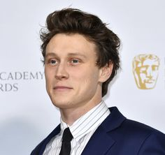 """""""George MacKay at the EE British Academy Film Awards 2020 Nominees' Party in London. George Mackay, British Academy Film Awards, I Have A Crush, Fine Men, Dream Guy, My King, Male Beauty, Celebrity Crush"""