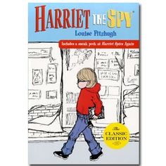 Harriet the Spy-reread as an adult, still laughed!