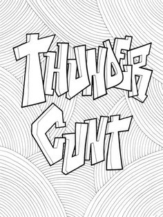 179 Best Swear Words Coloring Pages Images On Pinterest