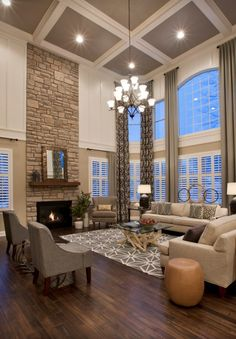 17 fascinating open concept living rooms that will attract your attention - Living Room Design Traditional