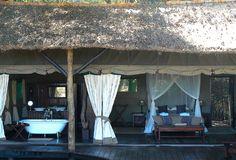 Chiawa Camp, Lower Zambezi, Zambia. Tented Suites.