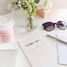 Our 2018 My Type of Calendar Edition 3 desk calendar is the perfect accessory to add a touch of style and sophistication to your workspace or desk. The subtle pastel colour palette used throughout the calendar is complimentary to any desk styling. Each month (Jan 18 - Dec18)