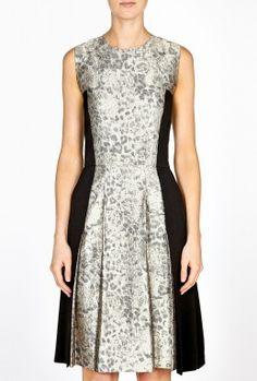 Kalimi Metallic Woven Sleeveless Dress by By Malene Birger