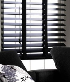 black wooden venetian blinds Google Search Home inspiration