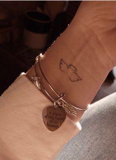 mini tattoos * mini tattoos ` mini tattoos with meaning ` mini tattoos unique ` mini tattoos simple ` mini tattoos for girls with meaning ` mini tattoos men ` mini tattoos best friends ` mini tattoos for women Mini Tattoos, Dainty Tattoos, Pretty Tattoos, Beautiful Tattoos, Tiny Tattoos For Girls, Cute Small Tattoos, Little Tattoos, Small Wing Tattoos, Small Angel Tattoo