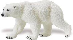 Wild Safari Polar Bear Adult at theBIGzoo.com, an animal-themed superstore.