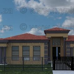 3 Bedroom House Plan – My Building Plans South Africa My Building, Building Plans, Architect Fees, 5 Bedroom House Plans, Construction Drawings, Guest Suite, Open Plan, Mj, South Africa